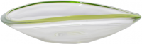 WALTHER-GLAS WAVE LIME 1202950 OZDOBNY TANIER 345 MM