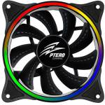 EVOLVEO Ptero FR1 Rainbow 5V RGB LED 120mm (rgb-fan-12fr1)