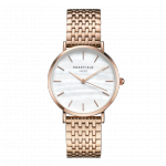 Rosefield The Upper East Side Rosegold White Pearl