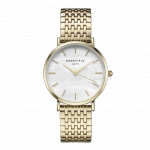 Rosefield The Upper East Side Gold White Pearl