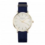 Rosefield The West Village Gold White / Blue