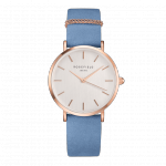 Rosefield The West Village Rose Gold White / Airy Blue