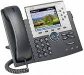 Cisco UC Phone 7965, Gig, Color,  with 1 RTU License