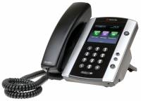 Polycom VVX 500 12-line Business Media Phone with HD Voice. Compatible Partner platforms: 20. POE. Ships without power supply. 3 year partner premier service is included for China