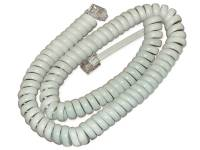 Spare Handset Cord for 89XX and 99XX, White