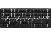 Cooler Master herní mechanická klávesnice Quick Fire Rapid-i, Cherry MX Brown, white backlight, USB, ENG