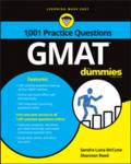 1,001 GMAT Practice Questions For Dummies Consumer Dummies