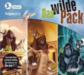 Das wilde Pack Hörbox, 3 Audio-CDs. Folge.1-3 Marx, André