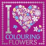 I Heart Colouring Flowers