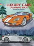 Luxury Cars Coloring Book LaFontaine, Bruce
