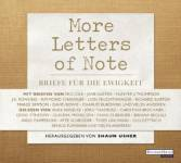 More Letters of Note, 3 Audio-CDs Usher, Shaun
