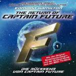 The Return of Captain Future - Die Rückkehr von Captain Future, 1 Audio-CD Hamilton, Edmond