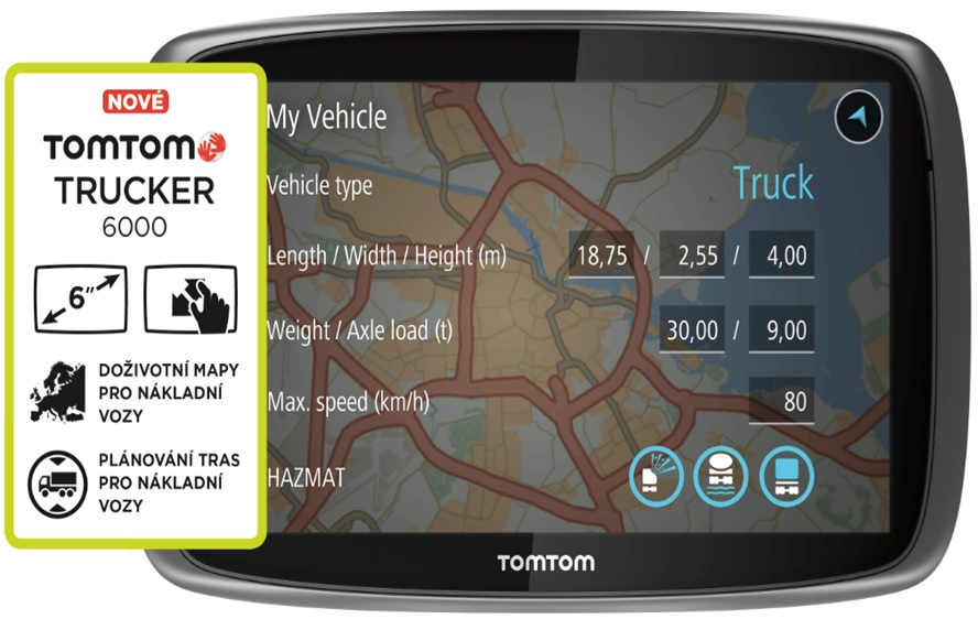 tomtom trucker 6000 lifetime ceny odpadne sk. Black Bedroom Furniture Sets. Home Design Ideas
