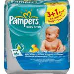 Pampers Baby Fresh, 4 x 64 ks