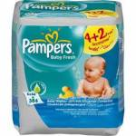 Pampers Baby Fresh, 6 x 64 ks