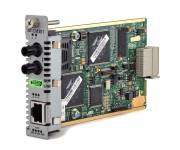 Allied Telesis Media Blade 10/100TX to 100FX (ST), 2km Multimode, with 802.3ah Support ECO FRIENDLY