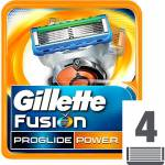 Gillette Fusion ProGlide Power - 4 ks