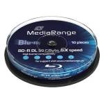 MediaRange BD-R 50GB 10ks cakebox (MR507)