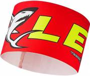 Leki Race Shark Head Band Červená/Žlutá