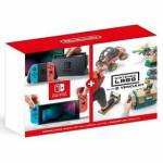 Herná konzola Nintendo Switch s Joy-Con v2 + Nintendo Labo Vehicle kit (NSH073) červená/modrá