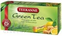 TEEKANNE Green Tea GINGER, LEMON zelený čaj 20x1,75 g (35 g)
