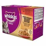 Whiskas DELICE grilované 12pack ..