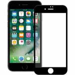 Icheckey 3D Curved Tempered Glass Screen Protector Black pro iPhone 8 plus