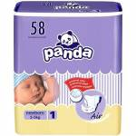 Plenky Panda New born 58 ks